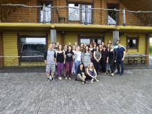 Mokymų dalyviai, pasiruošę organizuoti mobilų darbą visoje Lietuvoje